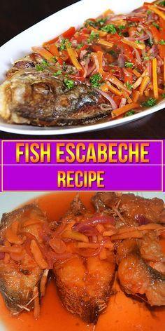 Fish Escabeche | Recipe ni Juan