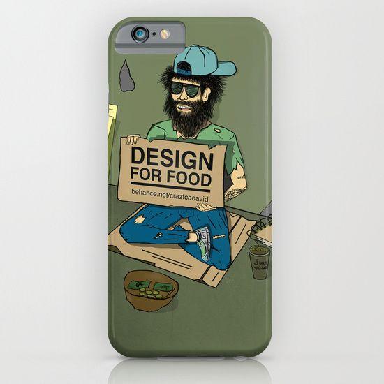 iphone case - design for food #design #illustration
