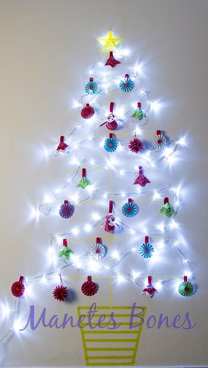 Rbol de navidad de pared arbolitos de navidad - Arbol de navidad de pared ...