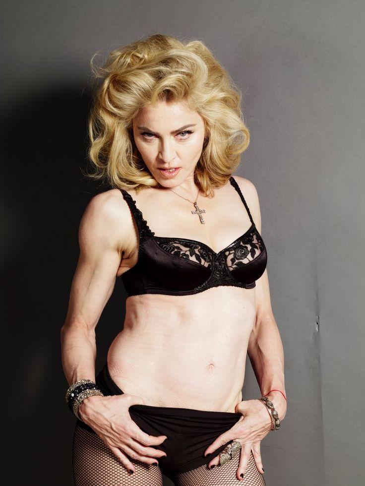 Madonna Interview Magazine 2010