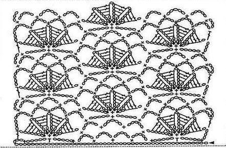 Il cardigan realizzato in attualissimo colore - turchese potrebbe essere molto utile durante le fresche serate primaverili. Schema
