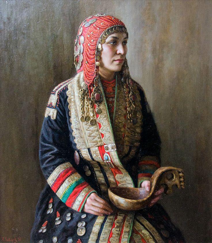 Башкирский национальный костюм (62 фото): женский, для девочки, свадебный, описание