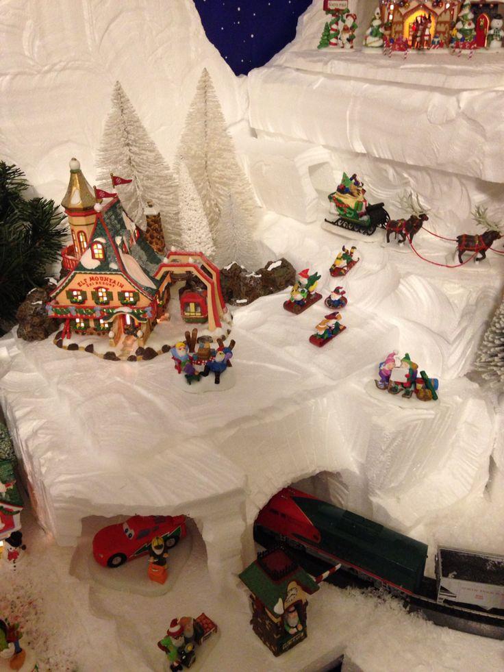 Elf Mountain Ski Resort | Christmas Village | Pinterest