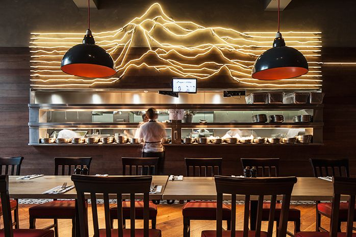 Burger & Lobster, Manchester, London restaurant interior design by DesignLSM. Photography (c) James French Photography