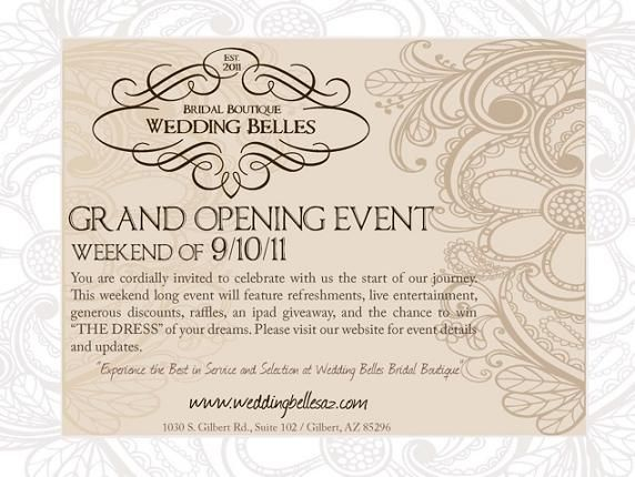 18 best Invite images on Pinterest Paper mill, Grand opening - best of invitation card sample for inauguration