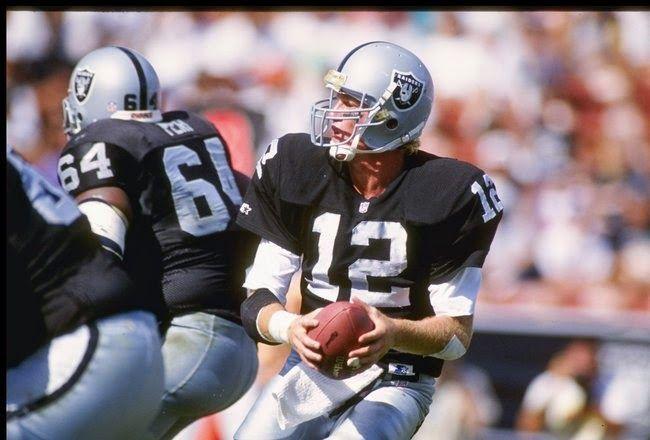 QB Todd Marinovich-(1991) LA Raiders