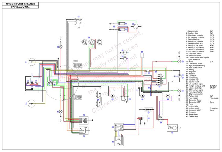 Infographic Motorcycle Wiring Diagram Two Stroke