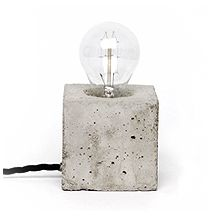 concrete lamp - kontrastform - freelance art director Henrik Karlsson
