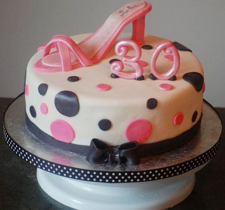30th Birthday Cakes For Women Picture In Birthday Cake