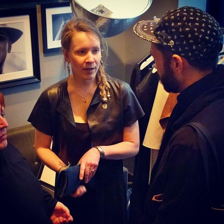 Berlin Fashion Designer Inga Lieckfeldt from Berlina Pflanze - at SOULFASHION @CATWALK Bar Berlin, Marriott Hotel Potsdamer Platz - Verführer, Das Beste aus Berlin