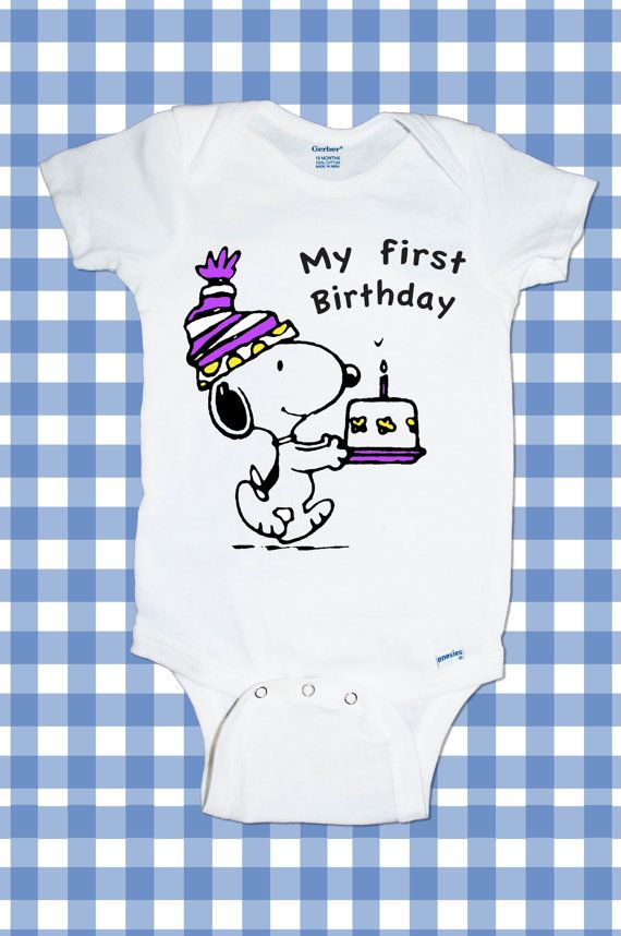 Hey, I found this really awesome Etsy listing at https://www.etsy.com/listing/205384490/new-custom-snoopy-birthday-my-first