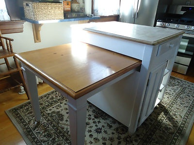 Retractable Table Kitchen Islands Amp Carts Pinterest