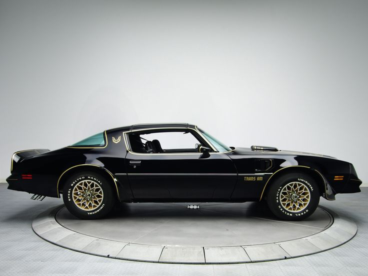 1978 Pontiac Trans Am Black S/E / Special Edition (black paint with gold accents…