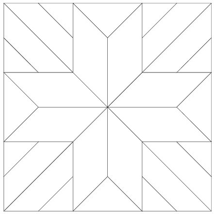 This is a picture of Bewitching Free Printable Quilt Block Patterns