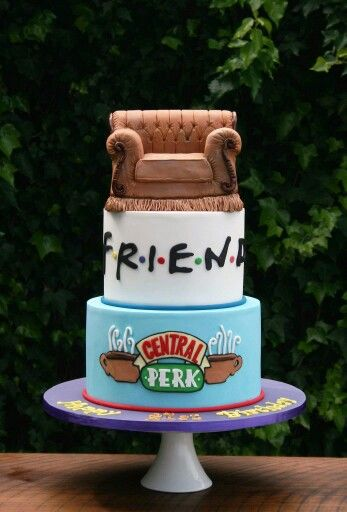 Friends 21st cake.