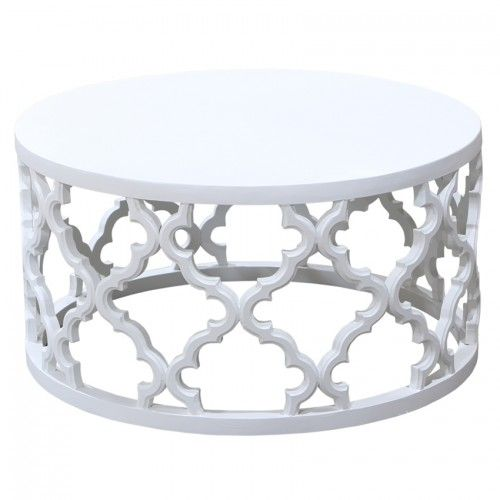Mustique Coffee Table White