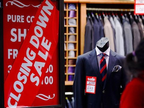 """Clothes shops could be in for a rough year. REUTERS/Luke MacGregor LONDON — """"It is still possible to pretend that Brexit hasn't happened,"""" UBS analysts wrote in a recent note. """"We think that this will change in the coming year."""" The investment bank is predicting a crunch year for clothing retailers as Brexit-driven inflation begins to hit people in their wallets. In its latest """"Evidence Lab"""" consumer survey, UBS found that the majority of the 2,000 people..."""
