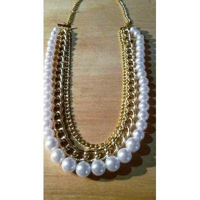 Collar Adelanto Otoño-inv 2015 Bijouterie Artesanal Accesor - $ 170,00 en MercadoLibre