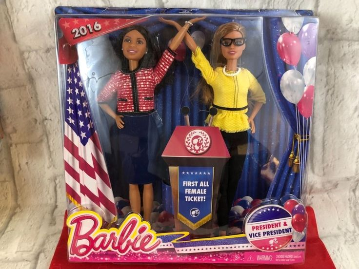 Mattel 2016 Barbie President And Vice President Dolls First All Female Ticket | Dolls & Bears, Dolls, Barbie Contemporary (1973-Now) | eBay!