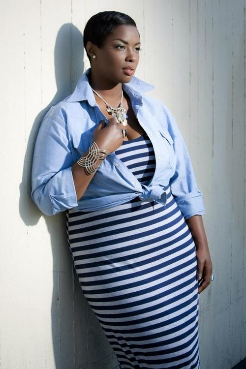 Lesley Pedraza Photography  #Plus-size outfit, not black.