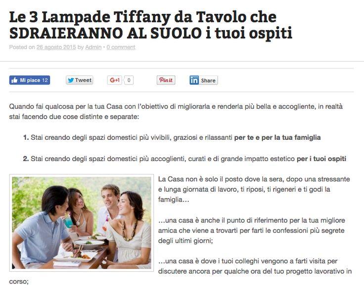 Ecco selezionate per te le 3 migliori Lampade Tiffany da Tavolo di sempre. Scoprile qui --> http://tiffanysicuro.it/blog/lampade-tiffany-tavolo/