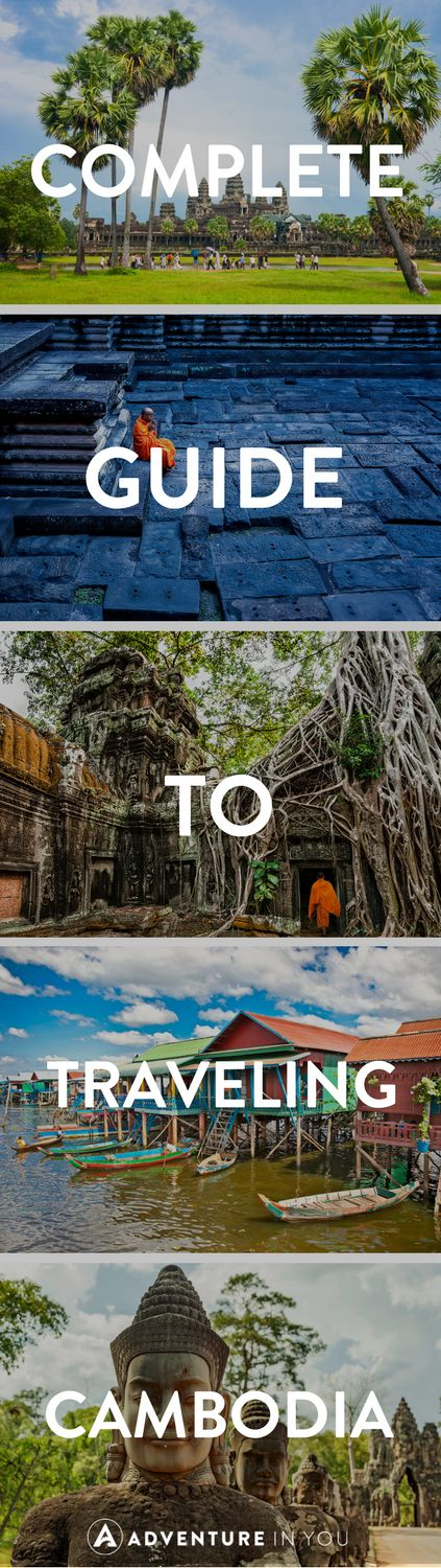 Cambodia Travel | Planning a trip to Cambodia? Here is everything you need to know about planning your trip. From where to go in Cambodia, what to do, what to eat, and even where to stay!
