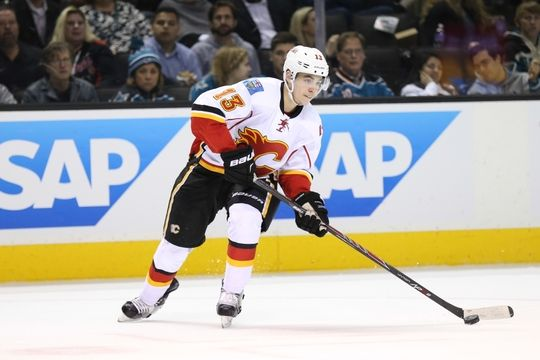 Calgary Flames left wing Johnny Gaudreau