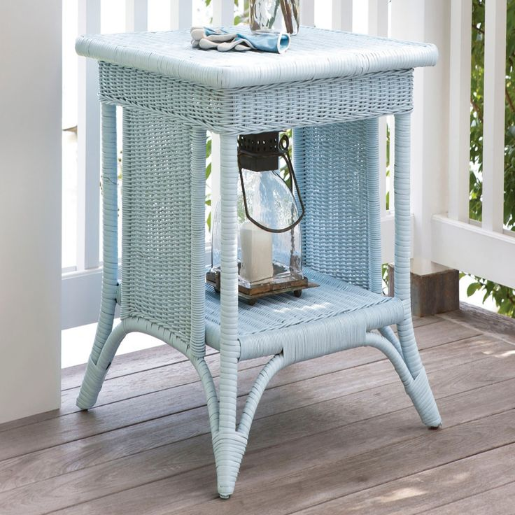 Rufus Tall End Table | Maine Cottage
