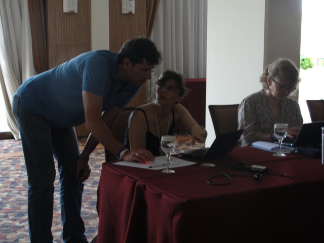 Photo from hotel, excursions, training during the course
