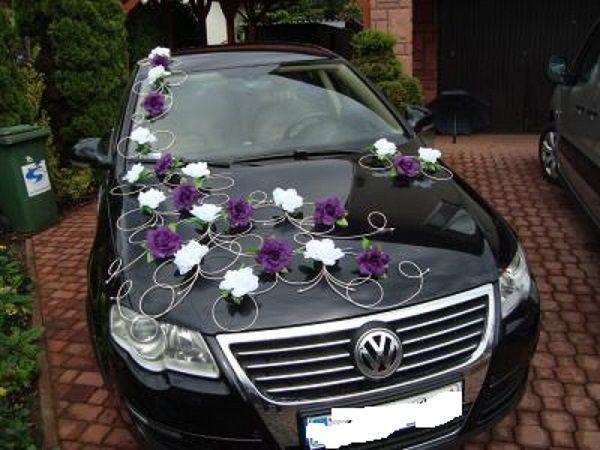 Vyzdoba svadobnych aut - dekoracie pre vase svadobne auto