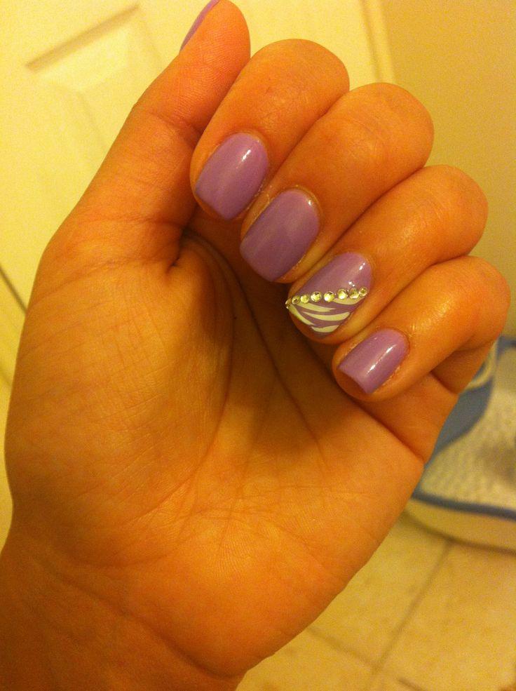 Purple Gel Nails Designs Zrom