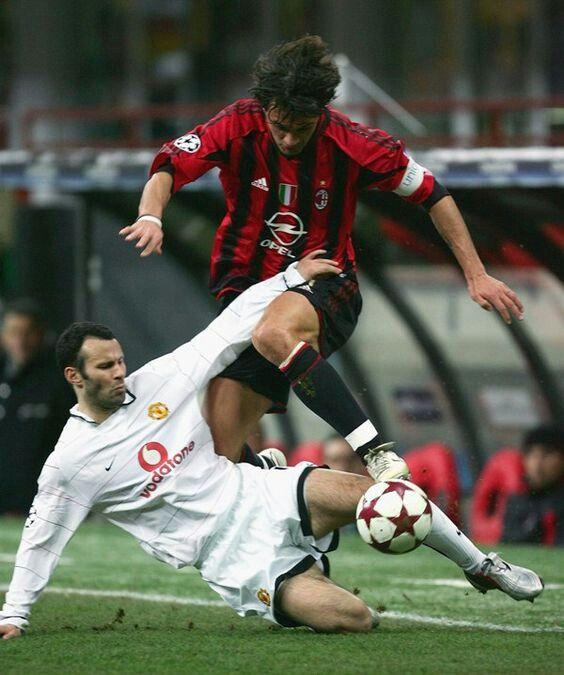 Giggs vs Maldini