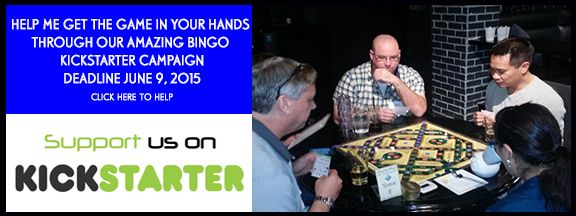The Amazing BINGO Kickstarter Campaign. Please share and help make the game a reality!
