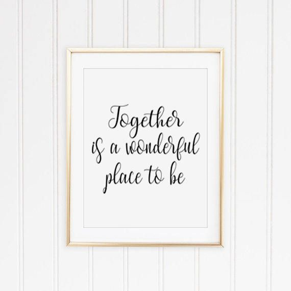 Bedroom Wall Decor, Romantic Quotes, Love Print, Love ...