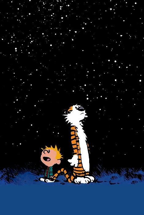 Calvin and hobbes cell tablet wallpapers calvin - Cartoon wallpaper for tablet ...