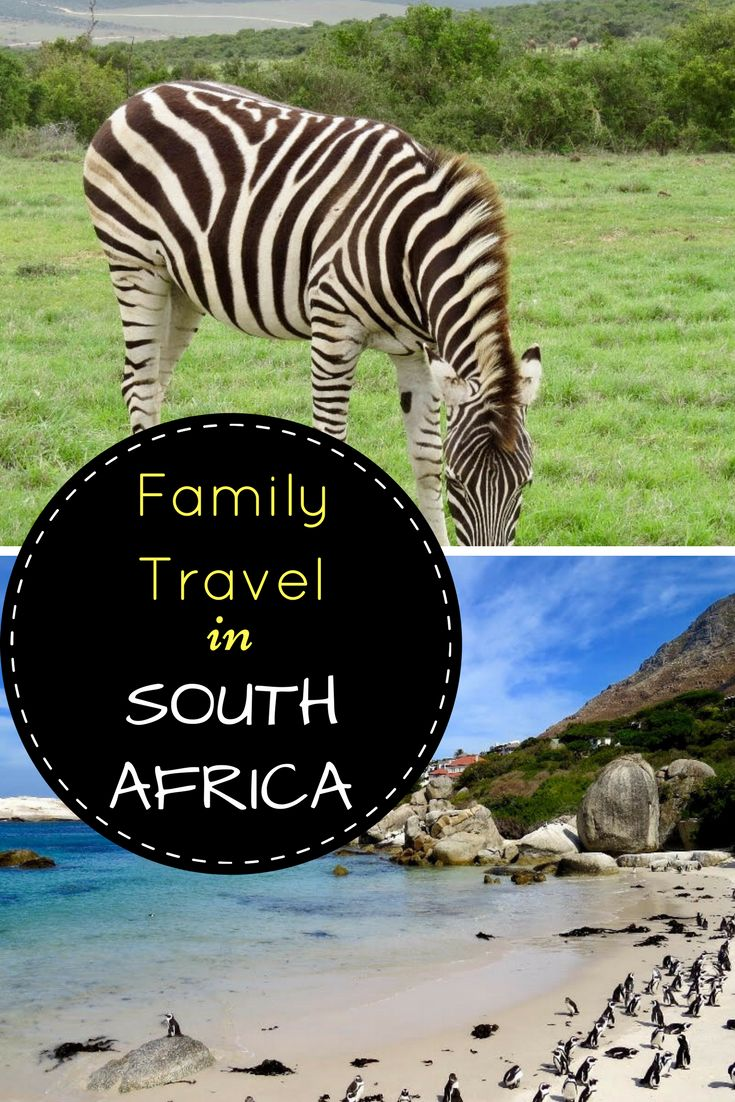 Family travel in South Africa with two young children - their advice and places to go.
