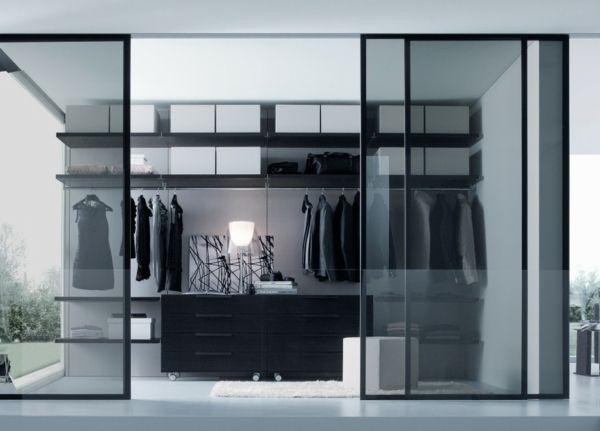 Fresh dressing room sliding doors