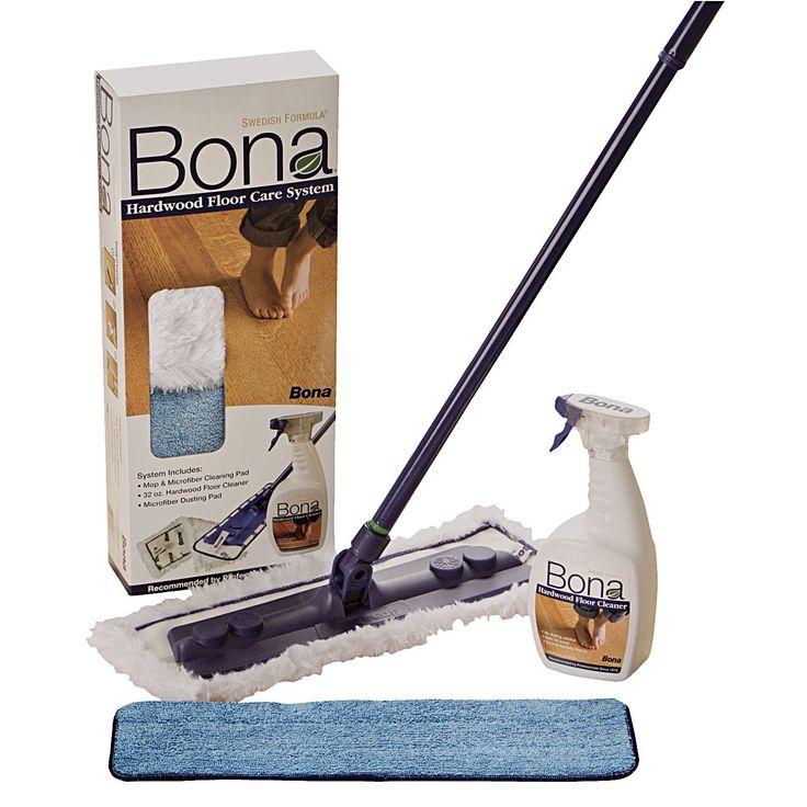 Bona WM710013384 Hardwood Floor Care System 4 Piece (Hardwd Care Sys 4pc)