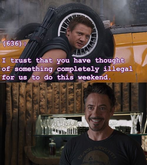 Texts From the Avengers ...oh my god, that face.