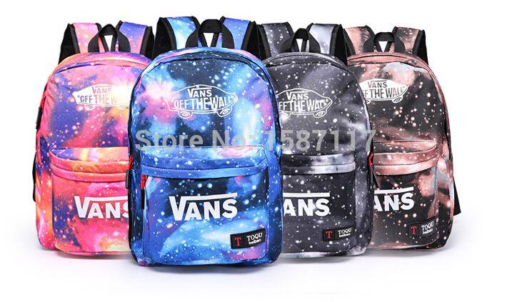 30 style School Youth Trend schoolbag 2015 new ladies female man shoulder bag backpack VANS Escolar bolsas mochila US Nina-in Backpacks from Luggage & Bags on Aliexpress.com | Alibaba Group