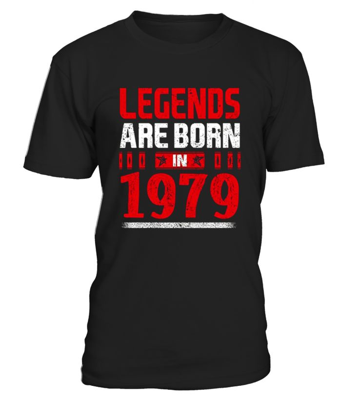Perfect Birthday Gift for people who are born in 1979.   38 years old 38th Birthday Gift Legends Are Born In 1979 T-Shirt, This tee truly is a Perfect 38th Birthday Gift as for girls as for boys.              TIP: If you buy 2 or more (hint: make a gift for someone or team up) you'll save quite a lot on shipping.     Guaranteed safe and secure checkout via:    Paypal | VISA | MASTERCARD      Click the GREEN BUTTON, select your size and style.      ▼▼ Click GREEN BUTTON Below To Order ▼▼ ...