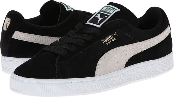 PUMA Suede Classic Wn's Black H13 - Zappos.com Free Shipping BOTH Ways