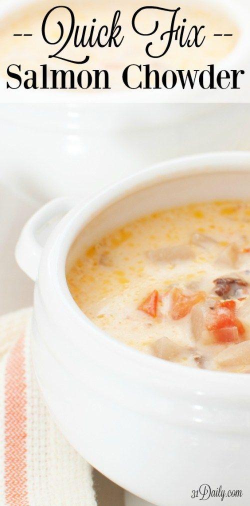25+ bästa Salmon chowder idéerna på Pinterest | Soppa och ...