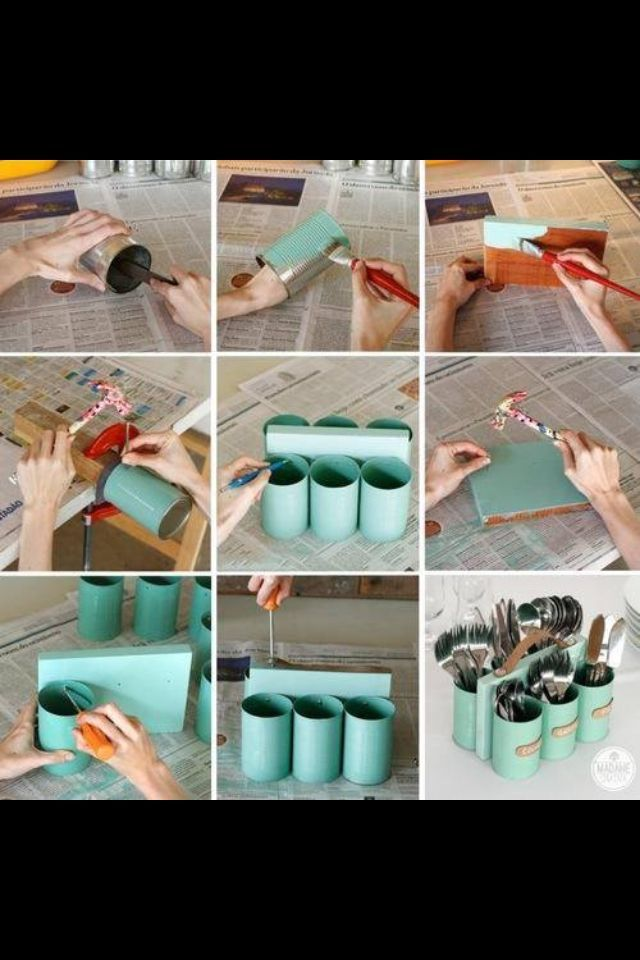 Diy Home decor ideas on a budget. : Upcycling - 5 New Uses For Old Things in Home   living-room-desig...