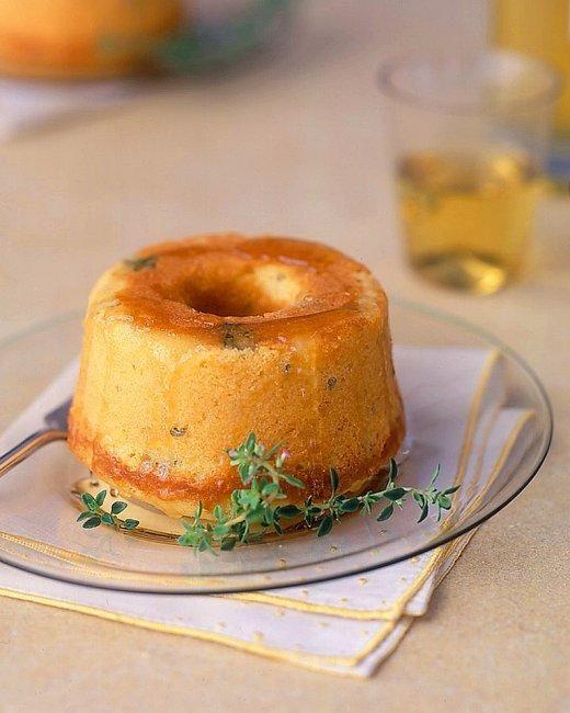 Lemon-Thyme Pound Cake Recipe