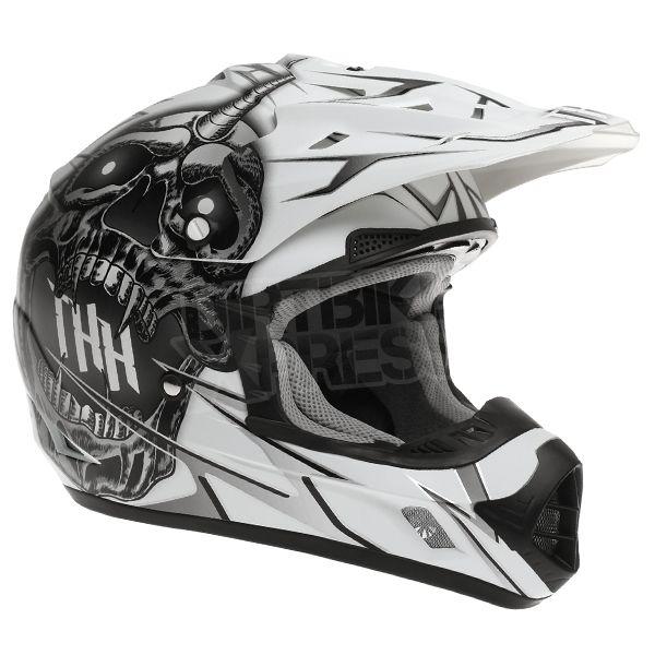 2015 THH TX-12 Helmet - Demon White Black