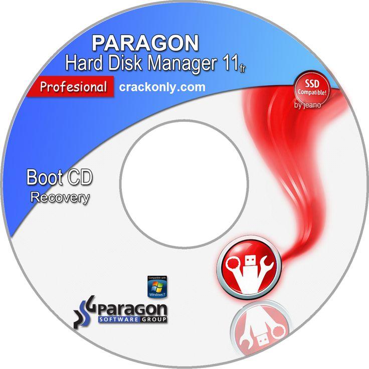 Paragon hard disk manager professional