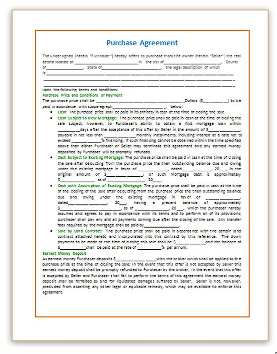 The 25+ best Purchase agreement ideas on Pinterest Budget - agreement in word