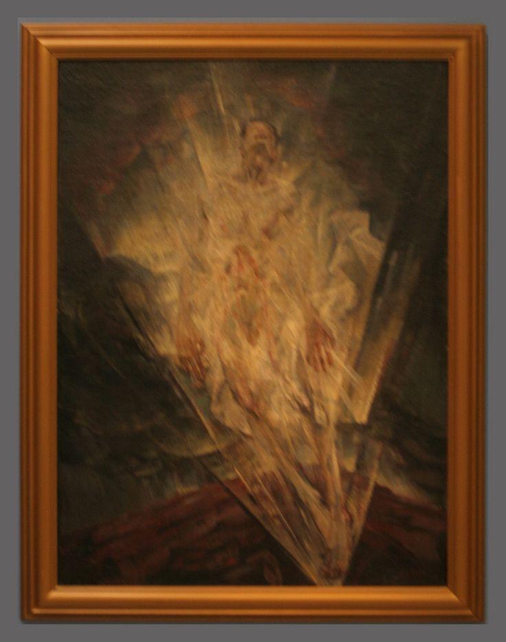 Maxim Kopf - A Vision, 1920, oil on canvas