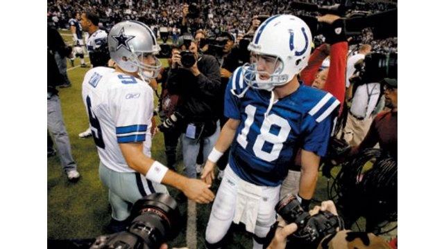 Tony Romo & Peyton Manning ...sight!